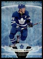 2019-20 OPC Platinum Arctic Freeze #99 Morgan Rielly /99 - Toronto Maple Leafs