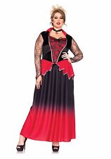 Sexy Leg Avenue Just Bitten Beauty VAMPIRE Halloween Costume Plus Size 1X/2X