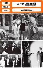 FICHE CINEMA : LE PRIX DU SILENCE - Ladd,Field,Nugent 1949 The Great Gatsby
