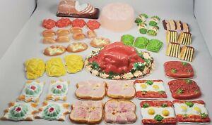 Vintage Plastic Celluloid Pretend Play Food 1950-60's