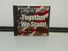 """America's Favorite Patriotic Songs """"Together We Stand"""" By Dave Lee { CD }"""