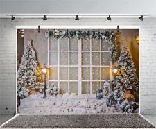 7x5ft Winter Weihnachten Baum Fotohintergrund Hintergrund Fotografie Backgrounds