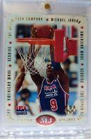 1996 96 UPPER DECK USA AMERICAN MADE Michael Jordan #M1, DIE CUT FOIL INSERT MJ