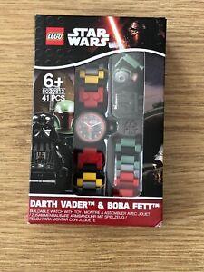 Lego 8020813 Darth Vader & Boba Fett Watch New Factory Sealed OOP