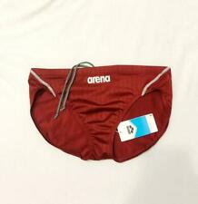 Arena mens Japan style swimming briefs. Very tight and shiny briefs with low cut