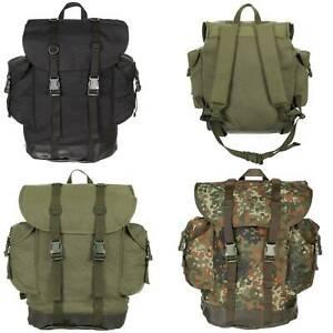 MFH German Army Mountain Backpack 30 Litre Rucksack Daysack Travel Bag