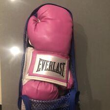 New Everlast Womens Advanced Pro Style Training Gloves Pink 12 oz Ta:12 Boxing
