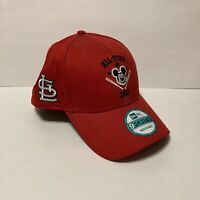 New Era 9FORTY Disney Mickey Mouse All Star 2015 StL Cardinals Strapback Hat Cap