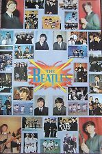 """VINTAGE POSTER~Beatles Original 1976 #135 Collage One Stop Classic 23x35"""""""