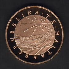 New listing Malta 1977 100 Pounds. Gold Proof. .9423 oz Agw
