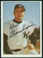 Original Autograph of John Blanchard of the New York Yankees on a 1978 TCMA Card