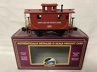 ✅MTH PREMIER MARYLAND & PENNSYLVANIA LIGHTED BOBBER CABOOSE NEW! FITS LIONEL MPA