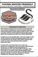 Ventura County Fusion v Swansea City 2012/13 Friendly