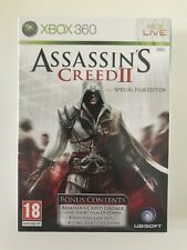 ASSASSIN'S CREED 2 II SPECIAL FILM EDITION XBOX 360 XBOX360 GAME *NEW & SEALED*