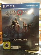 God of War Display Box Store Promo Promotional Game Stop