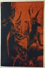 "Baphomet Forest Girl FULL SIZE 36"" x 24"" Poster Nude Art Fantasy Satan Evil 666"