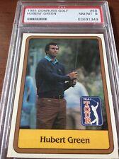 1981 Donruss Golf Hubert Green #50 PSA 8
