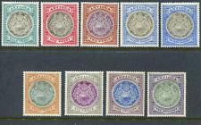 Antigua 1903 KEVII Mint Hinged SG 31-38, 34a, CC wmk