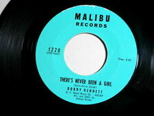 BOBBY BENNETT~THERE'S NEVER BEEN A GIRL~VG++~MALIBU~LOVE ME WITH~ TEEN 45
