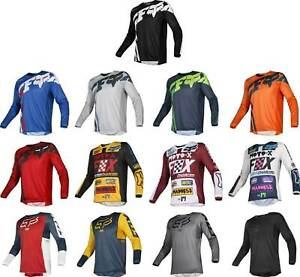 Fox Racing 180 Jersey MX Mens Motocross Dirtbike Offroad ATV MTB Gear Jersey Top