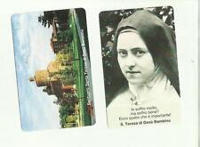 133955 santino holy card santa teresa di gesu' bambino
