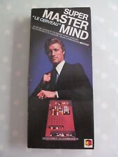 SUPER MASTERMIND  VINTAGE FRENCH EDITION COMPLETE WITH ENGLISH RULES