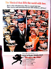 Goodbye, Mr. Chips 1969 G-VG Orig.US One Sheet 27x41 movie poster Peter O'Toole