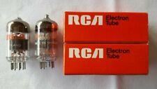 2x 6DJ8 RCA ECC88,6922,E88CC