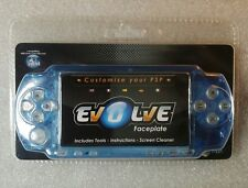 Facade de remplacement Bleu Crystal Evolve pour Console PSP Neuf / New