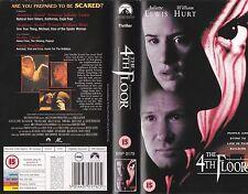 THE 4TH FLOOR VHS PAL WILLIAM HURT,JULIETTE LEWIS,TOBIN BELL,SHELLEY DUVALL 90'S