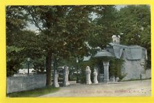 Old Postcard 1914 Printed in GERMANY Croix Gammée K.S.C Gate House RHINEBECK NY