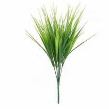 Wheat Grass Branch Artificial Outdoor Plants Fake Flower Green Office Decoration