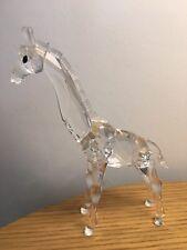 Swarovski Crystal girafe bébé 236717 Comme neuf boxed RETRAITÉ RARE