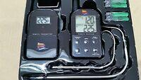 NEW Maverick ET-732  Remote Smoker / Grill Dual 2 Probe Wireless BBQ Thermometer