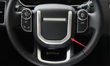 For Range Rover Velar 2017-2018 ABS Chrome Interior Steering wheel cover Trim