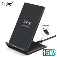 15W Qi Wireless Charger Stand Fast Charging For Huawei P30 Pro iPhone 11 Xs Max