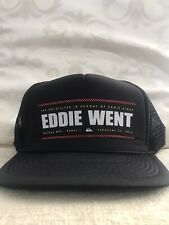 NWT QUIKSILVER EDDIE AIKAU WOULD GO 2016 EDDIE WENT WAIMEA BAY HAWAII TRUCKER