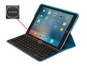 """Logitech Create Tastatur Case für iPad Pro 9.7"""" mit Smart Connector Deutsch 8355"""