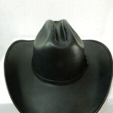Hats , Cowboy Genuine Leather Hat All Sizes Availables
