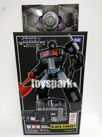 TAKARA Transformers Masterpiece MP-10B BLACK CONVOY Nemesis Optimus Prime + COIN