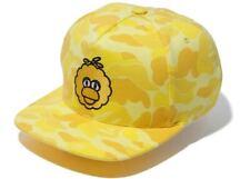 BAPE X Sesame Street ABC Camo Big Bird Snapback Cap Hat Yellow 2F73380903