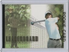 TIGER WOODS ROOKIE CARD Golf Star RC Upper Deck MINT LE!
