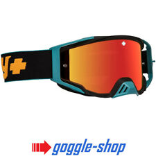 82ec500784 2019 Spy Foundation Motocross Mx Vélo Lunettes - Camo Orange/Rouge Lentille