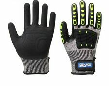 Cut Resistant Gloves Anti Impact Vibration Oil Gmg Tpr Safety Work Gloves