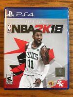 NBA 2K18, Sony PlayStation 4, PS4, NBA 2018, Brand New, FAST FREE SHIPPING!