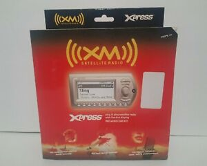 XM Express XMCK-10A Plug & Play Satellite Radio with Car Kit NEW & Sealed