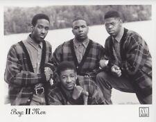 Vintage Photograph - BOYZ II MEN - Motown Records