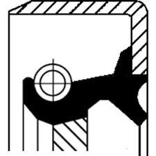 CORTECO WELLENDICHTRING, ANTRIEBSWELLE (ÖLPUMPE) RENAULT TRUCKS . 12013365B