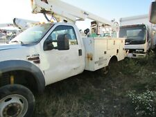 2008 Ford F-450 Super Duty Diesel Altec Boom Bucket Truck Needs Work