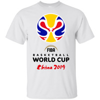 Champion 2019 FIBA Basketball World Cup White T-Shirt M-3XL